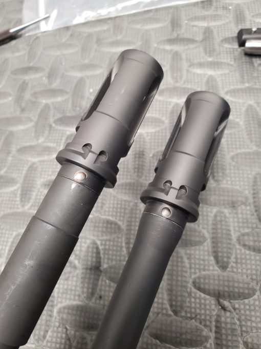 Pin and Weld Surefire closed tine flash hider by Trajectory Arms