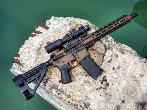 "Trajectory Arms 12.5"" AR Pistol"